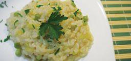 Risoto de Brócolis - Vegetariano
