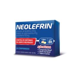 Neo Química Neolefrin 2 Blisters Com 10 Comprimidos Cada