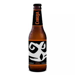 Cerveja Coruja Lager Long Neck 355 mL