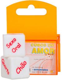 Cubos do Amor Hot - Dados com Posicoes e Locais - 2 Dados ER-02