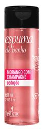 Feiticos Aromaticos - Espuma para Banho - Morango com Champagne