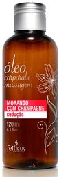 Feiticos Aromaticos - Oleo Para Massagem - Morango com Champagne