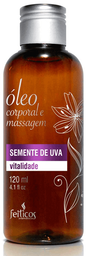 Feiticos Aromaticos - Oleo Para Massagem - Semente de Uva