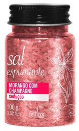 Feiticos Aromaticos - Sal Espumante para Banheira - Morango
