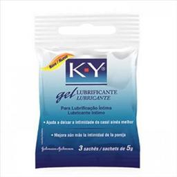 K-Y - Gel Lubrificante Intimo Sache - 3 Unidades