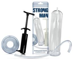 Strong Man Economico - Bomba Peniana Manual - Preta