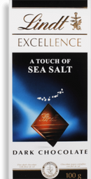 Chocolate Suíço Lindt Excellence Sea Salt 100 g