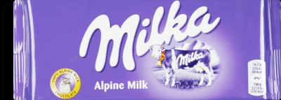 Milka Chocolate Ao Leite E Avela