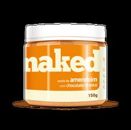 Naked Pasta Nuts Amendoim Com Chocolate Branco