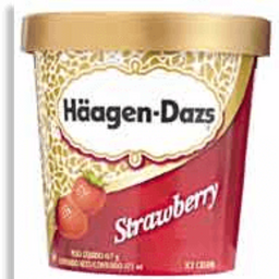 Sorvete Haagen Dazs Strawberry Morango 417 g