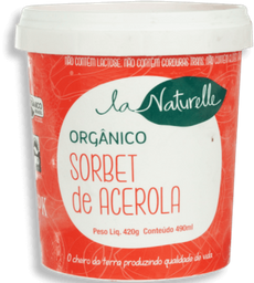 Sorbet La Naturelle Acerola 500 mL