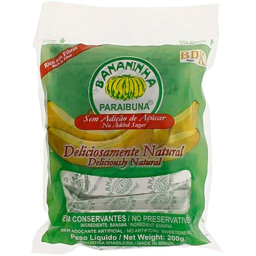 Doce Bananinha Paraibuna Sem Açúcar 200 g
