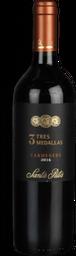Vinho 3 Medallas Santa Rita Carmenere 750 mL