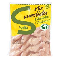 Filé Sassami De Peito De Frango Congelado Sadia 1 Kg