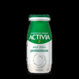 Leite Fermentado Activia Shot Probióticos Framboesa/Hibisco 100g