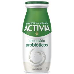 Leite Fermentado Activia Shot Probióticos Tradicional 100g