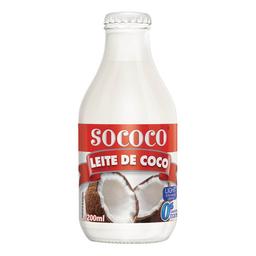 Leite De Coco Culinário Sococo Light 200 mL