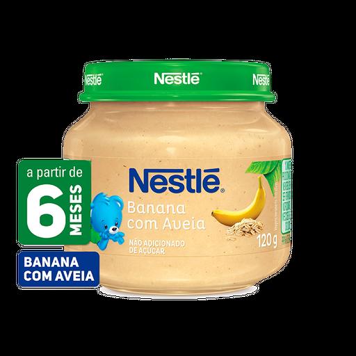 Nestlé Papinha Banana Com Aveia