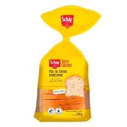 Pão Schar De Forma Tradicional Sem Glúten/Lactose
