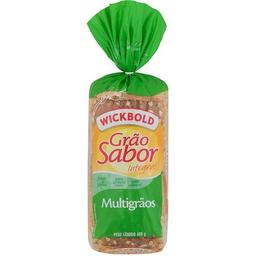 Pão De Forma Grão Sabor Multigrãos Wickbold 450 g