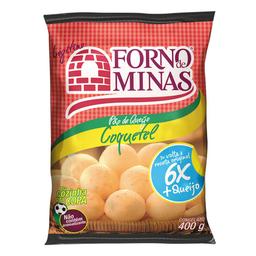 Pão De Queijo Coquetel Forno De Minas 32 Pães 400 g