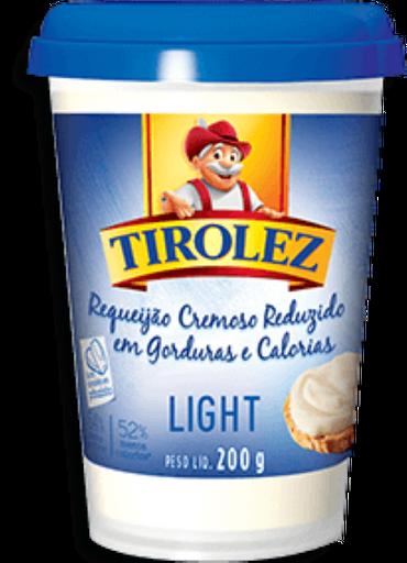 Tirolez Requeijão Cremoso Light