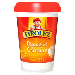 Requeijão Cremoso Tirolez 200 g