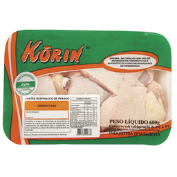 Sobrecoxa Frango Korin Resfriado 600 g