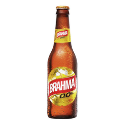 Brahma Zero Sem Álcool Long Neck 355 mL
