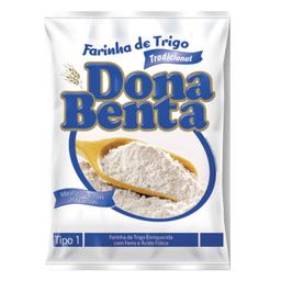 Farinha De Trigo Dona Benta Tradicional 1 Kg
