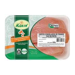 Filé De Peito De Frango Congelado Orgânico Korin 600 g