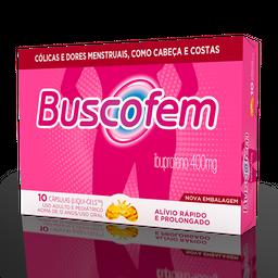 Buscofem 400 mg 10 Cápsulas