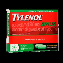 Tylenol Sinus 24X24 Comprimidos