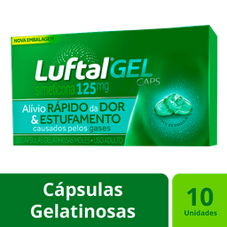 Luftal Max 125 mg Gel 10 Comprimidos