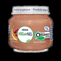 Alimento Infantil Nestlé Naturnes Ban/Uva Orgânico 120 G