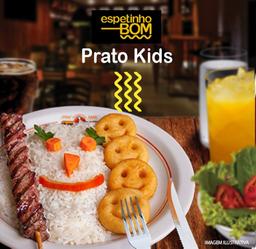 Prato Churrabom Kids