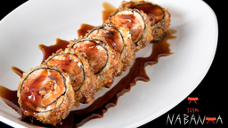 Hot Roll de Salmão Nabanka