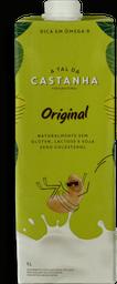 Bebida Vegetal De Castanha Original A Tal Da Castanha 1 L