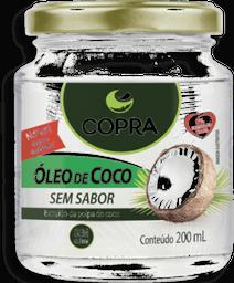 Óleo De Coco Sem Sabor Copra 200 mL