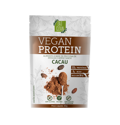 Vegan Protein Cacau Eat Clean 30 g