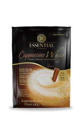 Cappuccino Whey Protein Essential Nutrition Sache 32 g