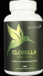 Clorella Premium Puravida 500 Mg 200 Tabletes