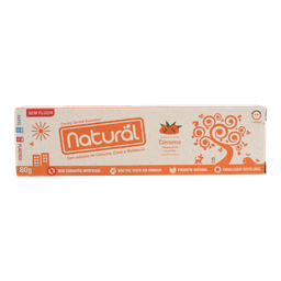 Creme Dental Natural Cúrcuma Suavetex 80 g