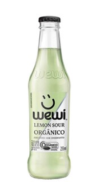 Refrigerante Natural Lemon Sour Orgânico Wewi 255 mL