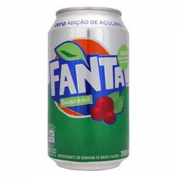 Fanta Guaraná Zero - 350ml