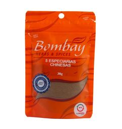 5 Especiarias Chinesas Bombay Pouch 30 g