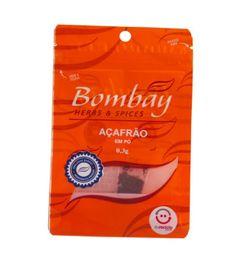 Açafrão Pó Bombay Pouch 0,3 g