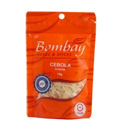 Cebola Flocos Bombay Pouch 10 g