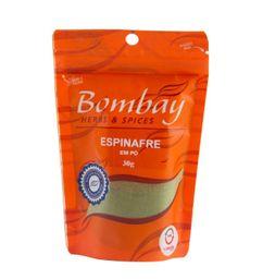 Espinafre Pó Bombay Pouch 30 g