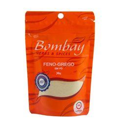 Feno Grego Pó Bombay Pouch 30 g